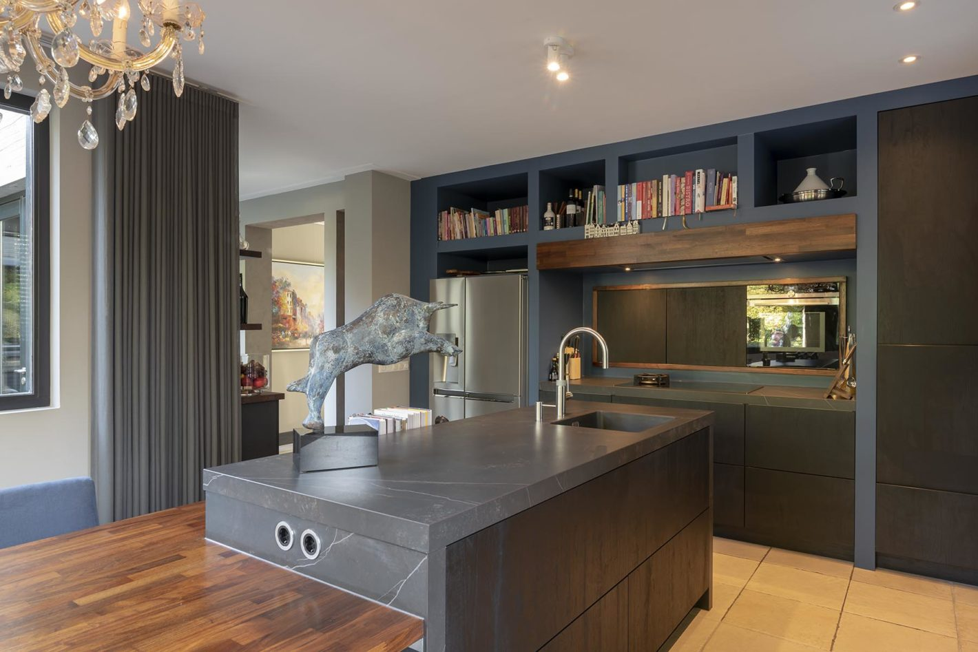 Wonen en werken in de keuken