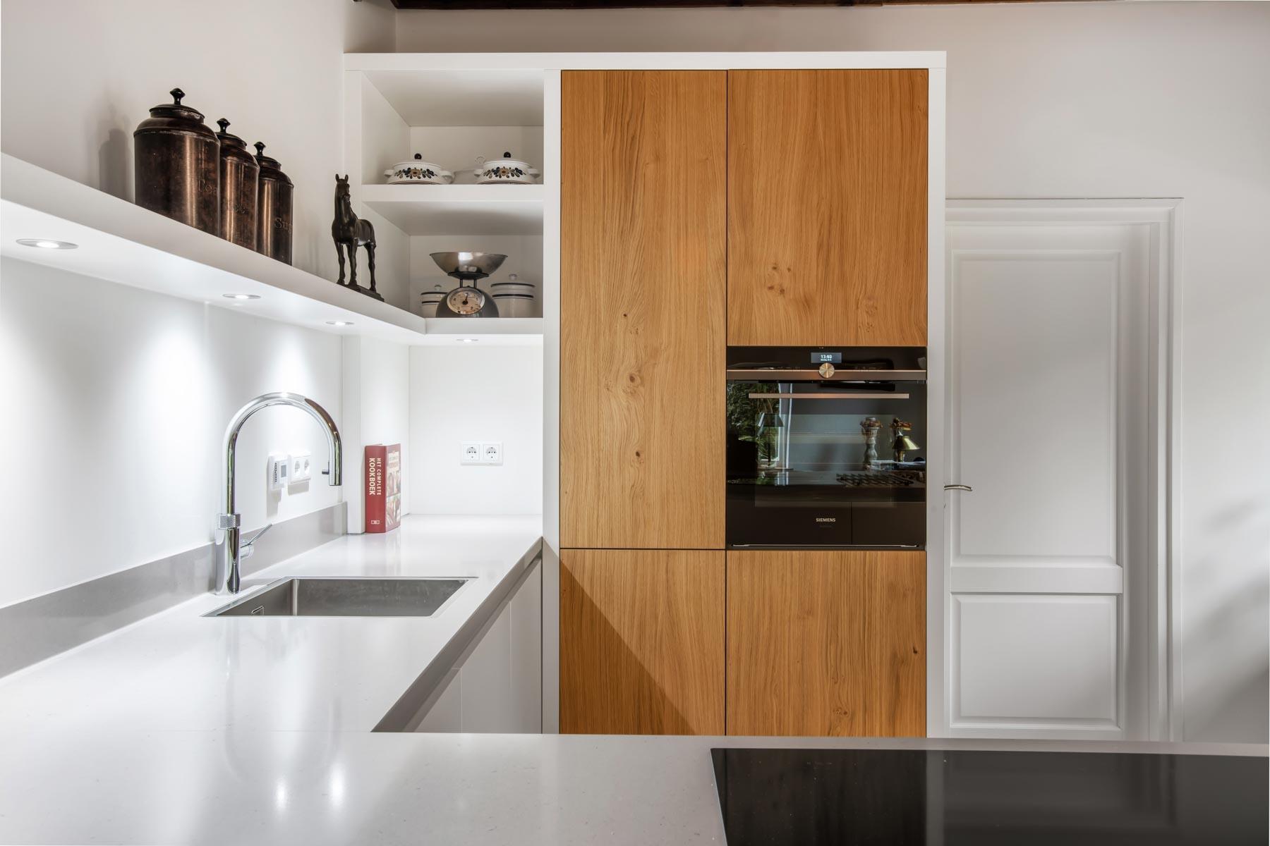 Open keuken met lichte uitstraling