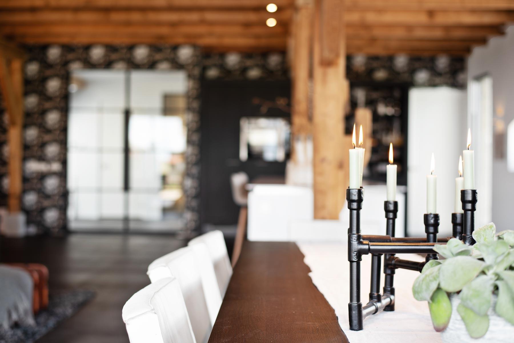 Moderne witte keuken - Verbouwde boerderij | Van manen keukens