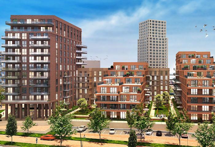 Nieuwbouw Paleiskwartier Den Bosch