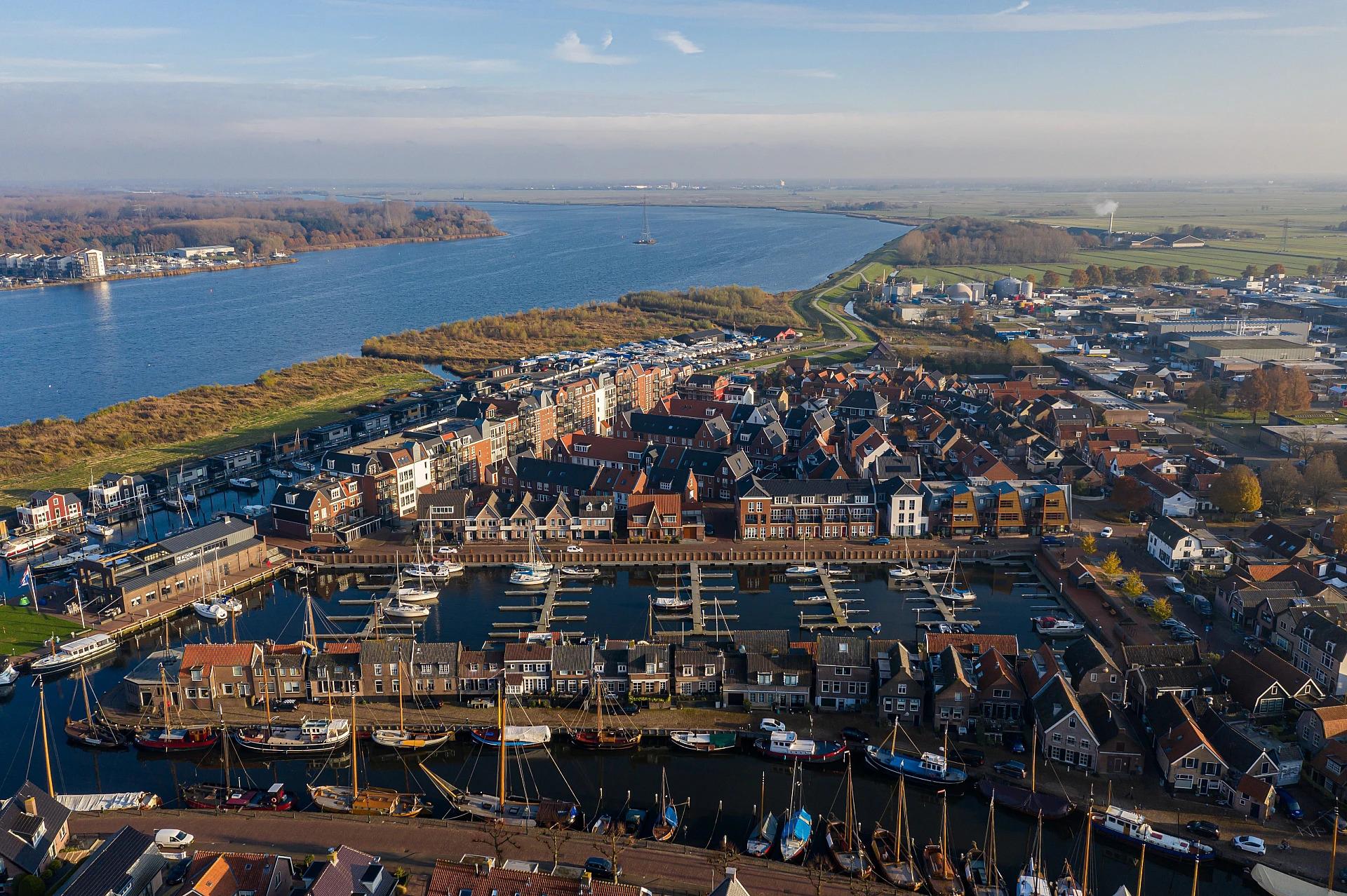 Nieuwbouw Woning Zuyderzee aan de dijk