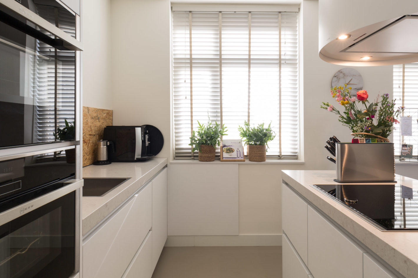Klein maar fijn! Luxe keuken in kleine ruimte